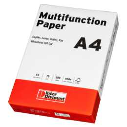 INTERDISCOUNT Multifunktionspapier A4