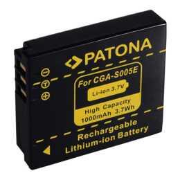 Batteria PATONA per Panasonic CGA-S005E