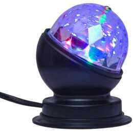 STAR TRADING Lumière d'ambiance LED (Noir, 3 W)