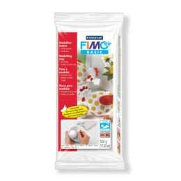 FIMO Air Basic pâte à modeler, blanche