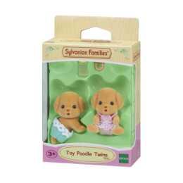 SYLVANIAN FAMILIES giocattolo barboncino gemelli
