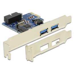 Carte DELOCK PCIe, USB