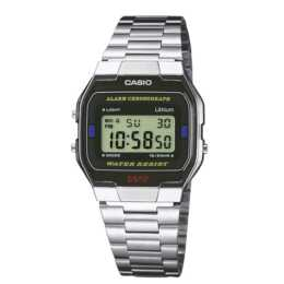 CASIO Collection Retro ( A-163WA-1QES, Digitaluhr, 33 mm)
