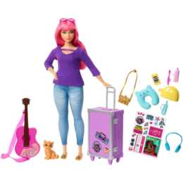 BARBIE Travel curvy