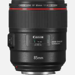 CANON EF  85 mm f/1.4 IS USM