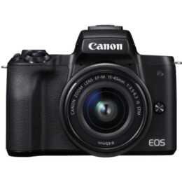 CANON EOS M50 Noir avec EF-M 15-45mm