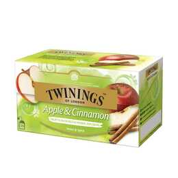 TWININGS Apple & Cinnamon Tè di frutti (Bustina di tè, 25 pezzo)