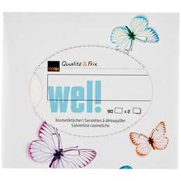COOP QUALITÉ & PRIX Wel! Design Tessuti cosmetici