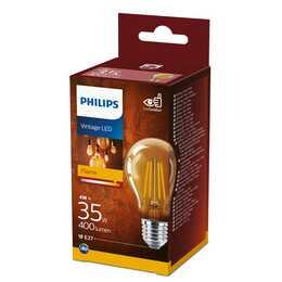 PHILIPS Ampoule LED Vintage LED (E27, 4 W)