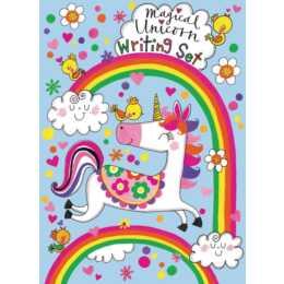 RACHEL ELLEN Set carta da lettere Unicorn