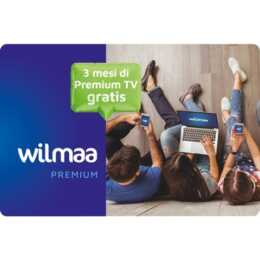 Scheda voucher WILMAA per Wilmaa TV IT