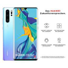 "HUAWEI P30 Pro (6.47"", 128 GB, 40 MP, Breathing Crystal)"