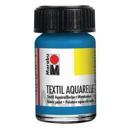 MARABU Textilfarbe Aquarelle (15 ml, Blau)