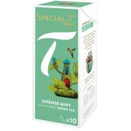 SPECIAL-T Intense Mint Tè verde (Tè in capsula, Special.T, 10 pezzo)
