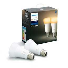 PHILIPS Ampoule LED Hue White Ambiance (E27, ZigBee, Bluetooth, 8.5 W)