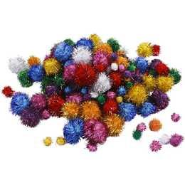 CREATIV COMPANY Pompon (Mehrfarbig, 150 Stück)