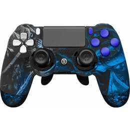SCUF GAMING Infinity 4PS Pro - Knights of Scuf Gamepad (Blau, Schwarz)