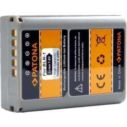 Batterie Patona pour Olympus BLN-1