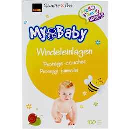 COOP MY BABY Insert de couche (100 pièce)