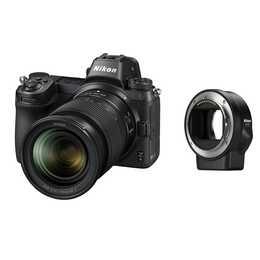 NIKON Z 6 Kit 24-70mm f/4 S + adattatore per obiettivi FTZ