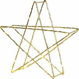 STAR TRADING Étoile de Noël (25 cm, Gold)