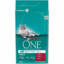 PURINA ONE Adult Rind & Vollkorn 1.5kg