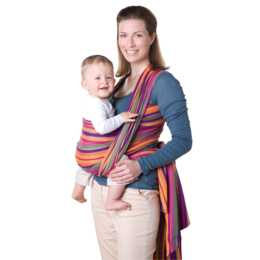AMAZONAS Porte-bébé Carry Sling Lollipop