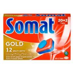 Somat Geschirrspültabs 12 Gold Inhalt 22
