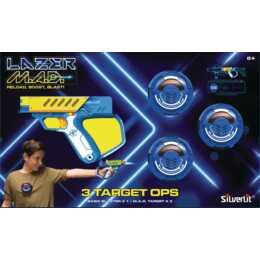 SILVERLIT M.A.D. Target Ops (4 Stück)