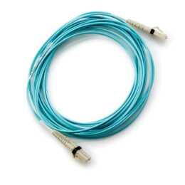 HPE AJ833A Glasfaserkabel 0,5 m LC Blau
