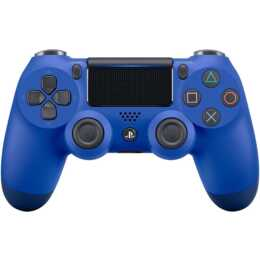 SONY PS4 DualShock Import  Gamepad (Bleu)