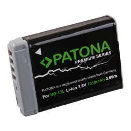 PATONA Batteria Premium per Canon NB-13L