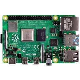 RASPBERRY PI 4 Model B Scheda di sviluppo (ARM Cortex-A72)