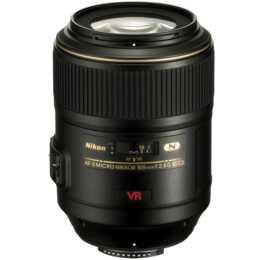 NIKON Micro-Nikkor AF-S VR 105mm f / 2.8G IF-ED