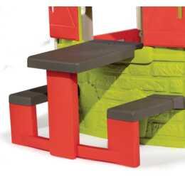 SMOBY Picknicktisch zu Spielhaus Neo Jura Lodge
