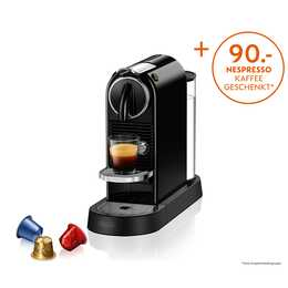 DELONGHI Citiz EN167.B (Nespresso, Nero)