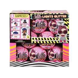 MGA ENTERTAINMENT L.O.L. Surprise Lights Glitter (8 Stück)