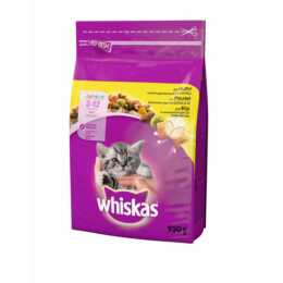WHISKAS Trockenfutter Junior Huhn, 950g