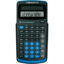 TEXAS INSTRUMENTS calculator TI-30 eco RS