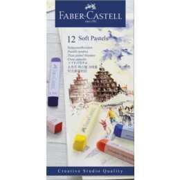 FABER-CASTELL Softpastellkreide 12er Pack