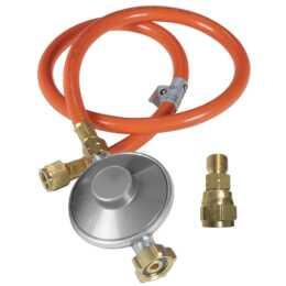 OUTDOORCHEF Regolatore di pressione del gas con tubo flessibile 50mbar