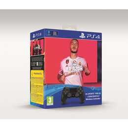 SONY Dualshock 4 + FIFA 20 DFI Gamepad (Jet Black)