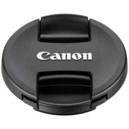 CANON E-77 II Copriobiettivo, 77 mm, nero
