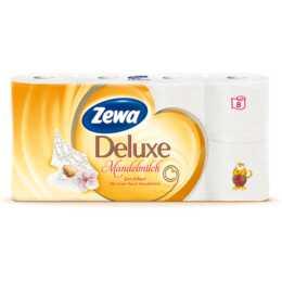 ZEWA Toilettenpapier 4-lagig Deluxe Mandelmilch