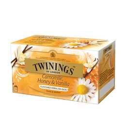 TWININGS Honey & Vanilla Tè d'erbe (Bustina di tè, 25 pezzo)