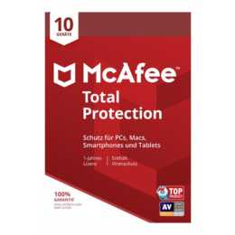MCAFEE Total Protection  (Licenze volume, Tedesco, Francese, Italiano)