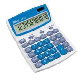 IBICO 212X Taschenrechner (Standard Batteriebetrieb, Solarzellen)