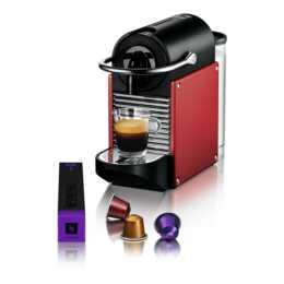 DELONGHI Pixie EN.125 Electric Carmin (Nespresso, Rot)