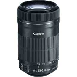 CANON EF-S 55 - 250 mm f/4.0 - 5.6 IS STM