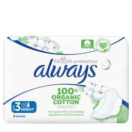 ALWAYS Ultra Cotton Protection Serviettes périodique (9 pièce, Normal)